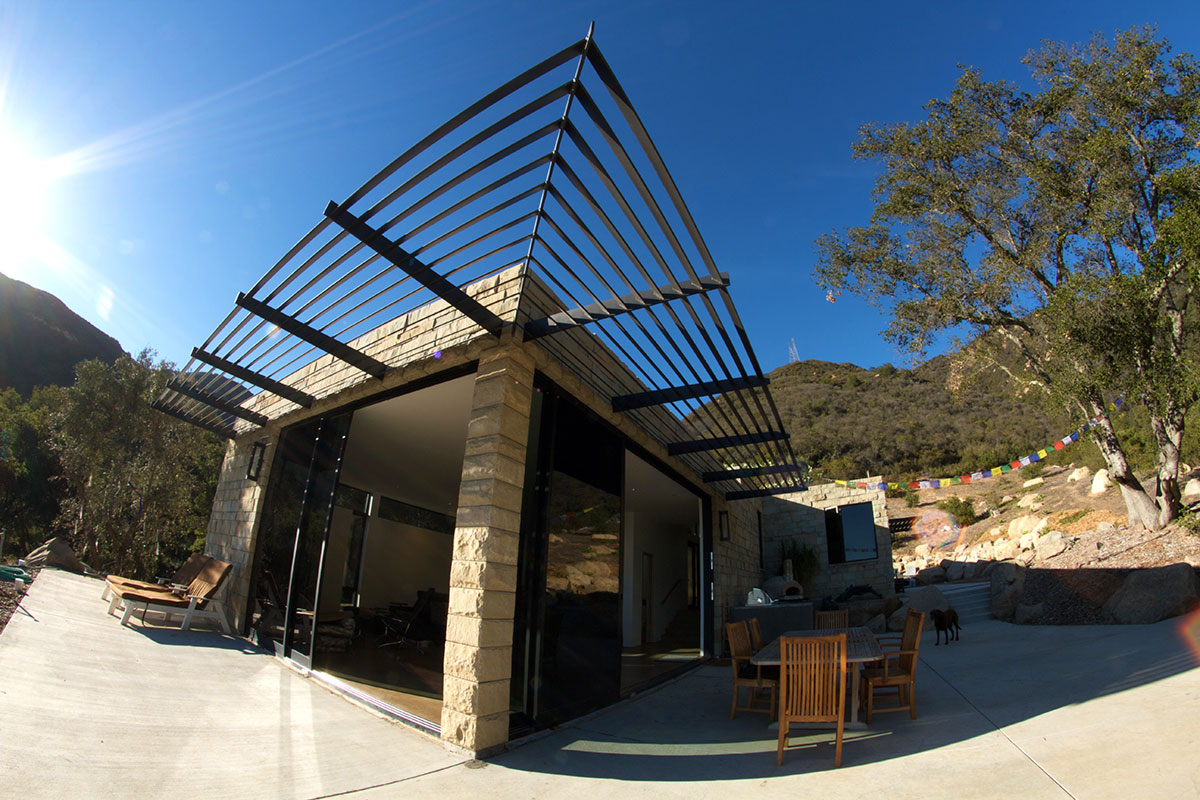 Toro Canyon Santa Barbara Ca Ecosteel Architectural